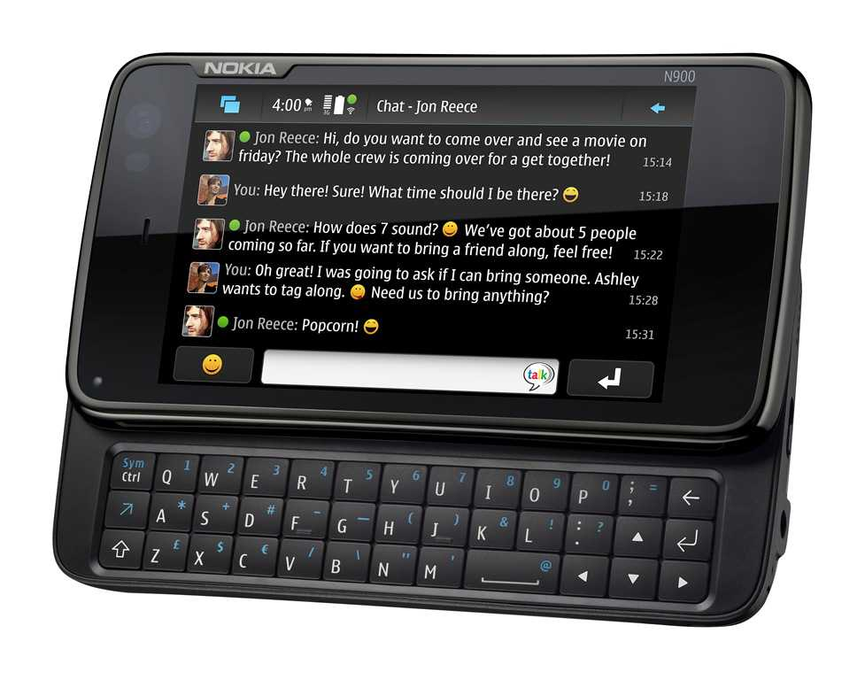 Nokia N900 con OS Android 2.1