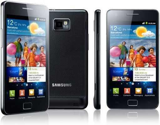 Samsung Galaxy S II: 3 milioni di dispositivi Venduti in 55 Giorni