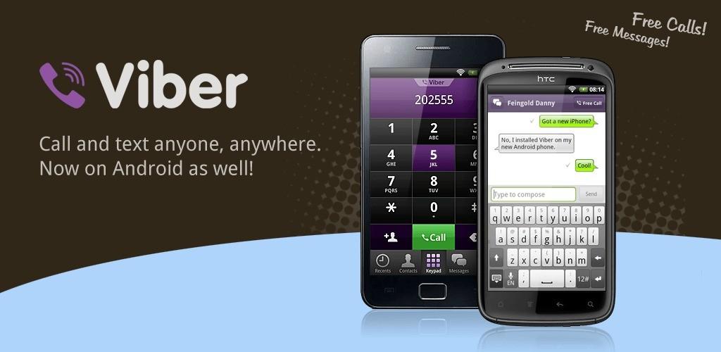 Telefonare gratis su cellulari Android con Viber