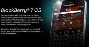Nuovi smartphones BlackBerry con sistema operativo OS7
