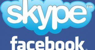 Videochiamate skype-Facebook