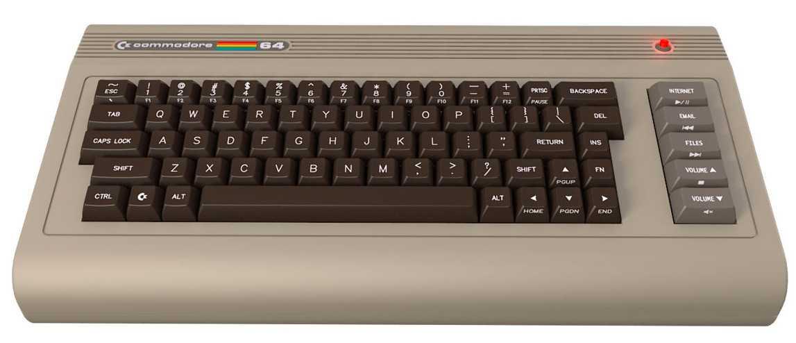 Ecco il nuovo Commodore 64
