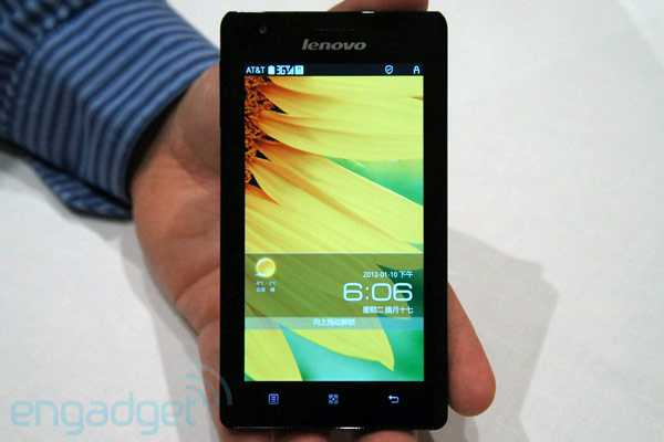 Lenovo K800: il primo smartphone Intel-Android [Video]