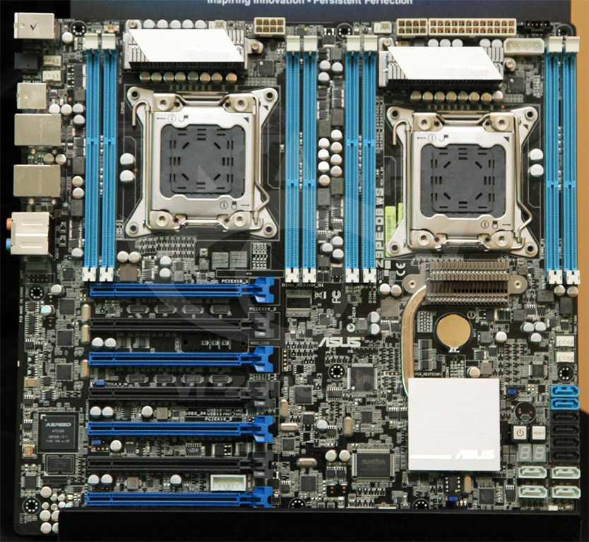 ASUS Z9PE-D8-WS, dual socket LGA2011