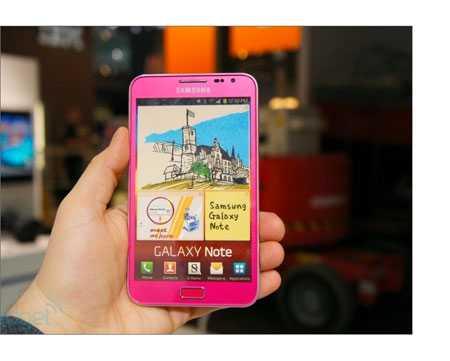 Galaxy Note ora anche rosa