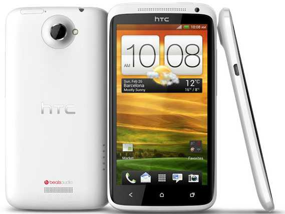HTC One X con Snapdragon S4 vola