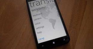 Bing Translator 2.0: Microsoft aggiorna il traduttore online per Windows Phone
