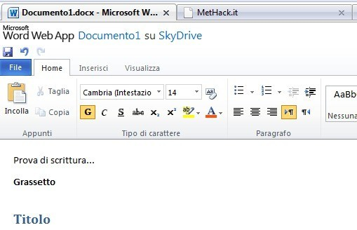 Word e Excel online: la suite Microsoft Office gratuita