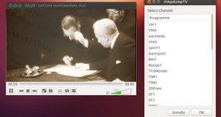 Vedere la TV in Streaming in HD su Ubuntu