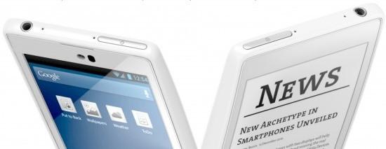 Yota presenta lo YotaPhone, con Android 4.2, LTE e…. 2 Display!