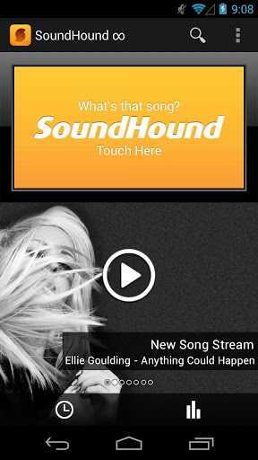 Nuovo aggiornamento anche per SoundHound