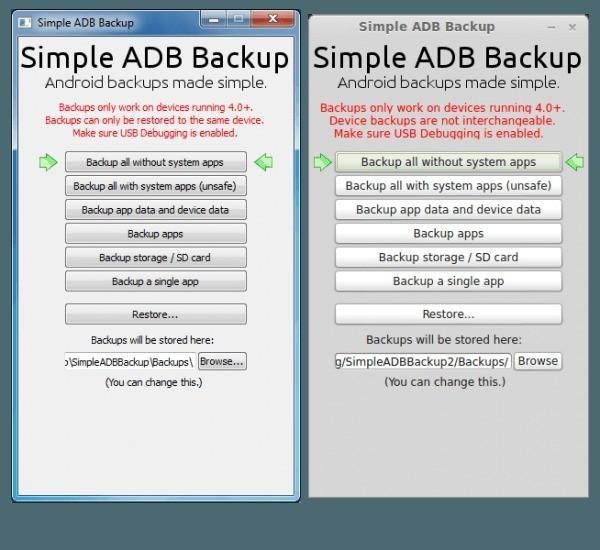 Simple ADB Backup: come effettuare backup e ripristino su PC senza root (anche da Linux)