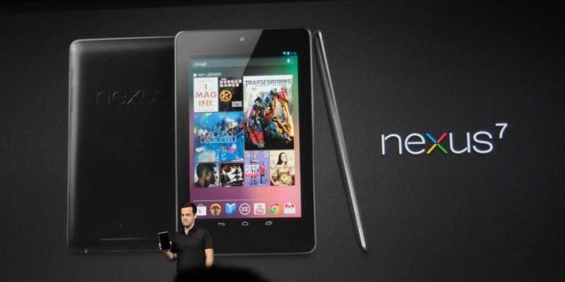 Google presenterà al Google I/O di Maggio il nuovo Nexus 7 ?