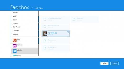 Dropbox: la nuova e moderna App per Windows 8 arriva nello Store Microsoft
