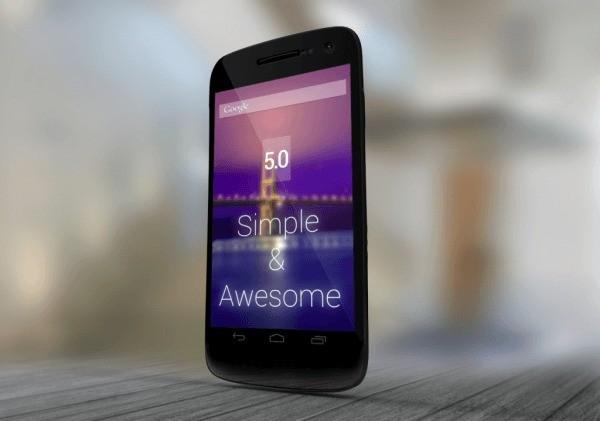 Android 5.0 Key Lime Pie: ecco un concept dell'interfaccia grafica!