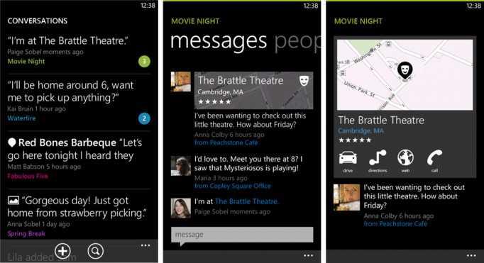 Nokia Pulse Beta for Windows Phone 8 Screenshots