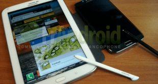 Samsung Galaxy Note 8.0 in arrivo per fine Marzo