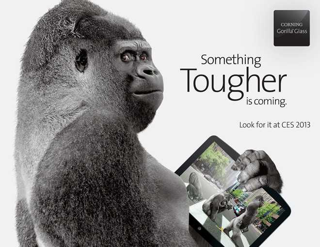 Corning presenterà Gorilla Glass 3 al CES 2013