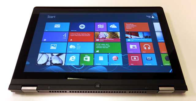 CES 2013: Lenovo IdeaPad Yoga 13″ – Tablet e Ultrabook Windows 8 insieme