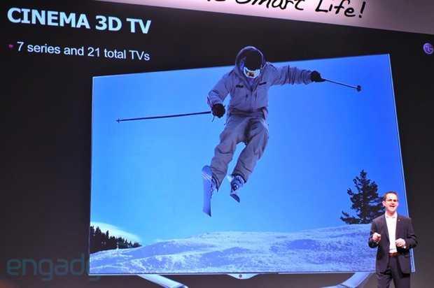 CES 2013: Lg annuncia nuove SMART TV Cinema 3d, Tv Oled, Google TV, e altre novità per il 2013