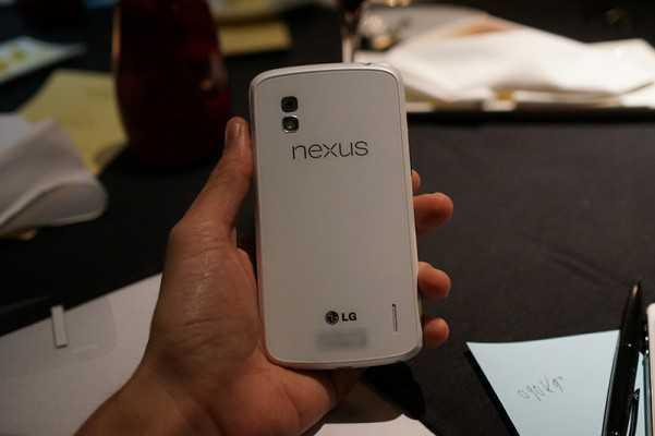 Aggiornamento – LG Nexus 4 Bianco e…. Nero!