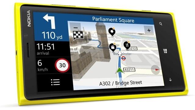 Nokia Drive disponibile per Windows Phone 8 in USA, Canada e UK