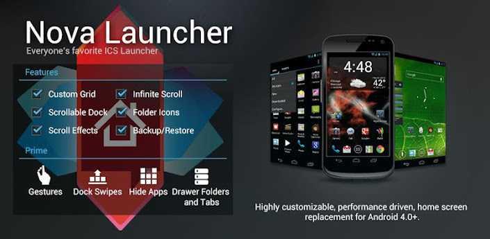 Nova Launcher si aggiorna alla versione 2.0 portando tante novità!