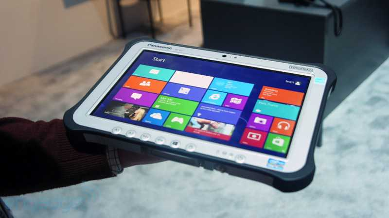 CES 2013: Panasonic presenta 2 Tablet Ultra resistenti Android e Windows 8 Pro
