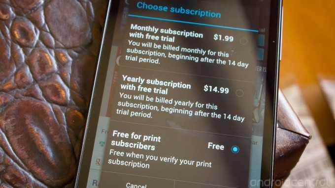 Novità! Google Play Magazine offre la visione gratuita alle riviste per chi è abbonato al cartaceo, ma per ora solo in USA!