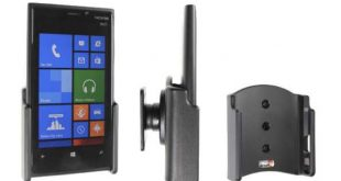 Il supporto per auto del Lumia 920 con ricarica wireless