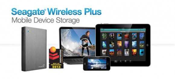 Ces 2013: Seagate presenta il Wireless Plus, hard disk da 1Tb Wifi