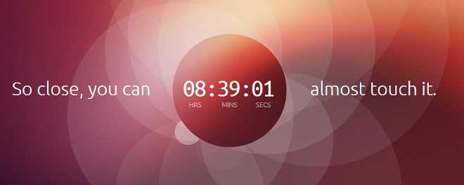 Ubuntu pronta con un Sistema Operativo Touch!
