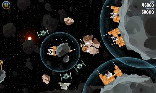 """Angry Birds Star Wars nuovo episodio disponibile: """"Escape from Hoth"""""""