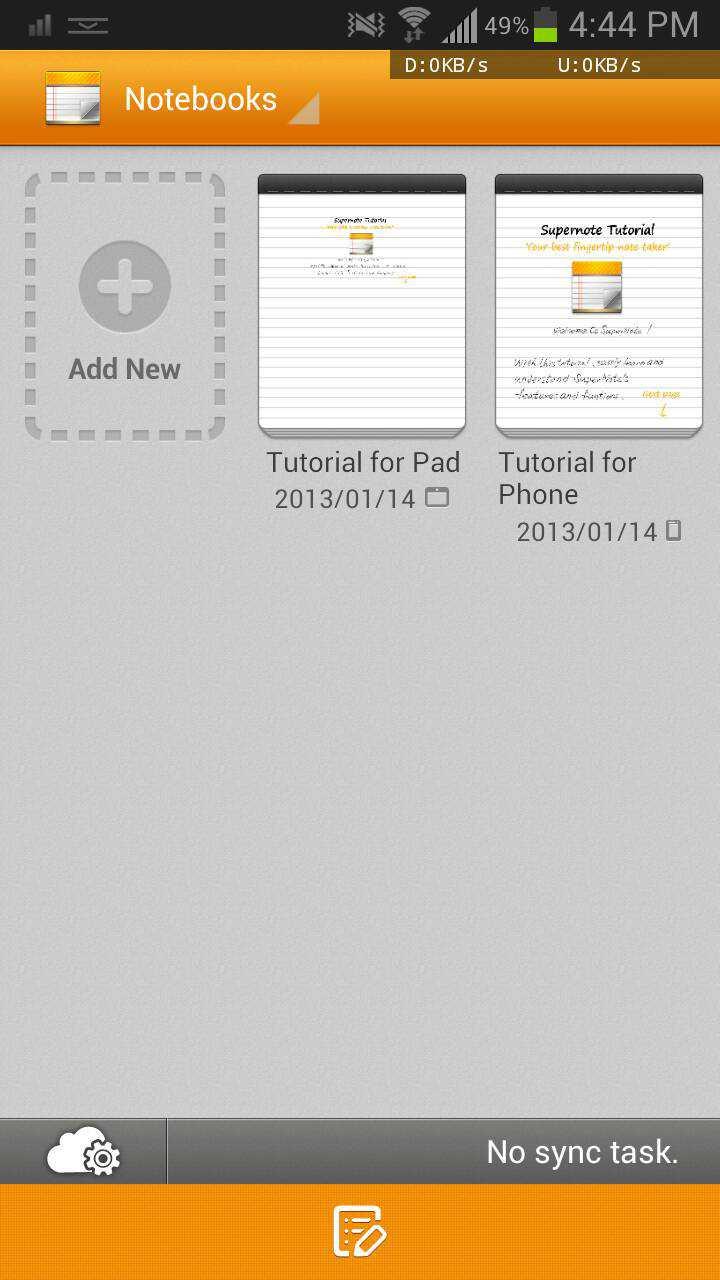 Asus Supernote 3.1.0: grazie a XDA, l'app per le note del Padfone 2 è per tutti!!