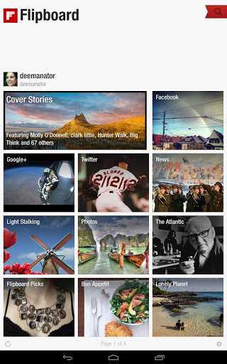 Ancora un aggiornamento per Flipboard: ora si possono salvare le immagini dagli articoli