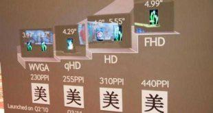 Samsung Display inizia la produzione di schermi Full HD AMOLED