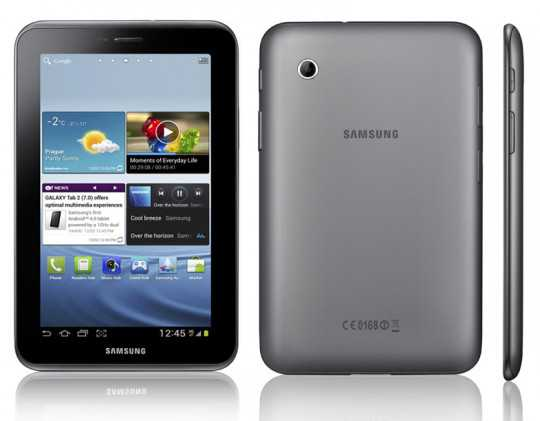 Samsung Galaxy Tab 2 7.0 GT-P3110: arriva Android 4.1.2 Jelly Bean