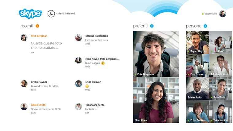 Skype per Windows 8 si aggiorna, porta finalmente il supporto dei file