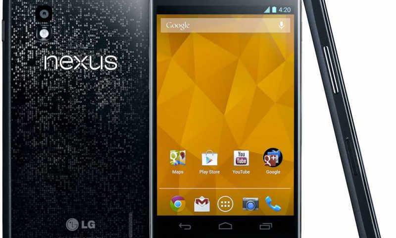 Google Nexus 4 – Arriva un piccolo restyling