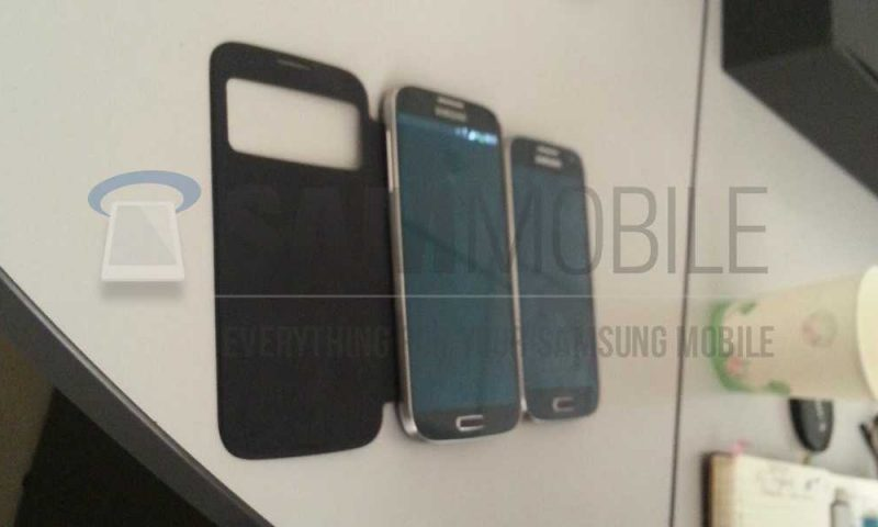 Prime immagini per il Samsung Galaxy S 4 Mini!