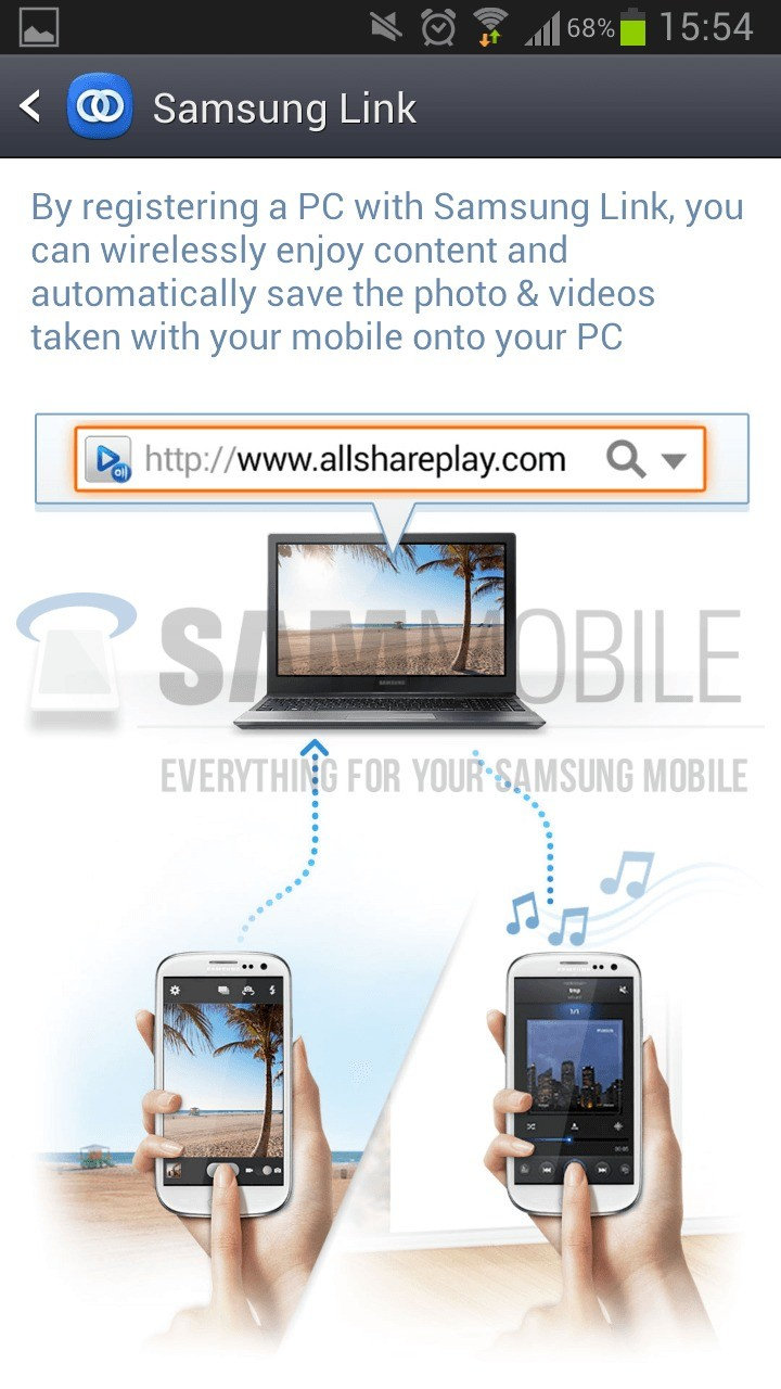 Samsung Galaxy S4 – Download dell'app Samsung Link (nuovo All Share Play)!