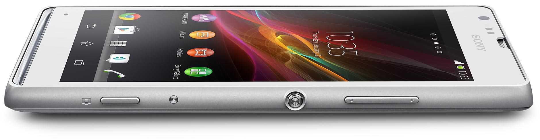 Sony Xperia SP annunciato con telaio in alluminio, elementi di design NXT, e fotocamera Exmor RS