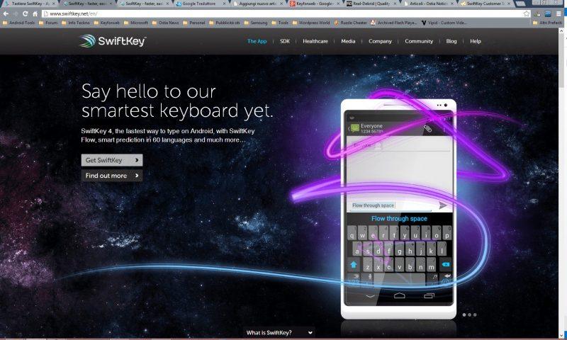 SwiftKey si aggiorna e risolve una serie di bug