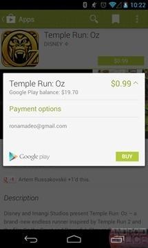 Trapelano le prime immagine del nuovo Google Play Store in stile Google Now!