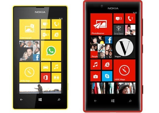 Prezzi e date d'uscita dei Nokia Lumia 520 e 720 per l'India
