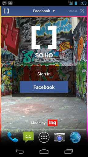 """SO.HO – Arriva il primo """"social launcher"""" per Android!"""