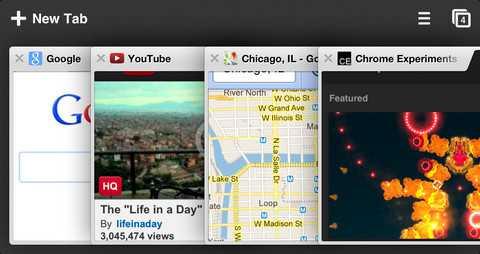 Chrome per iOS si aggiorna con la modalità a schermo intero