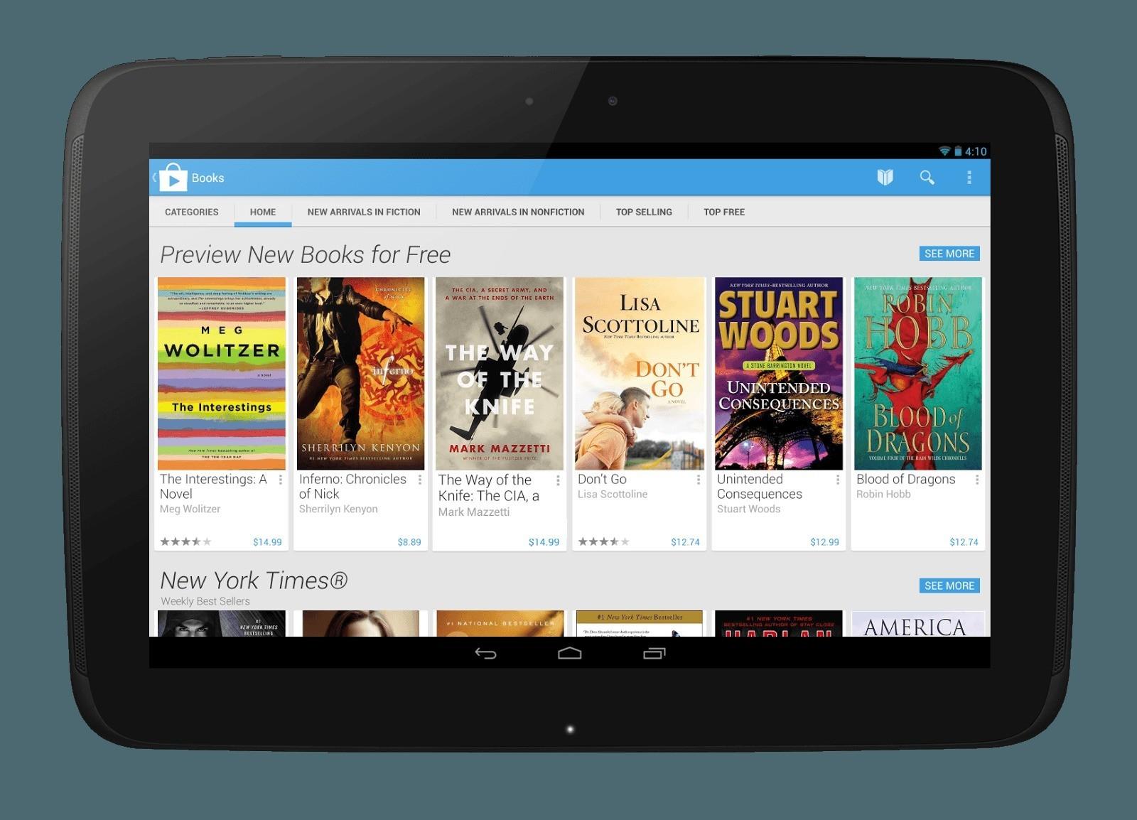 Google Play Store 4 – Finalmente pronto per l'Italia!