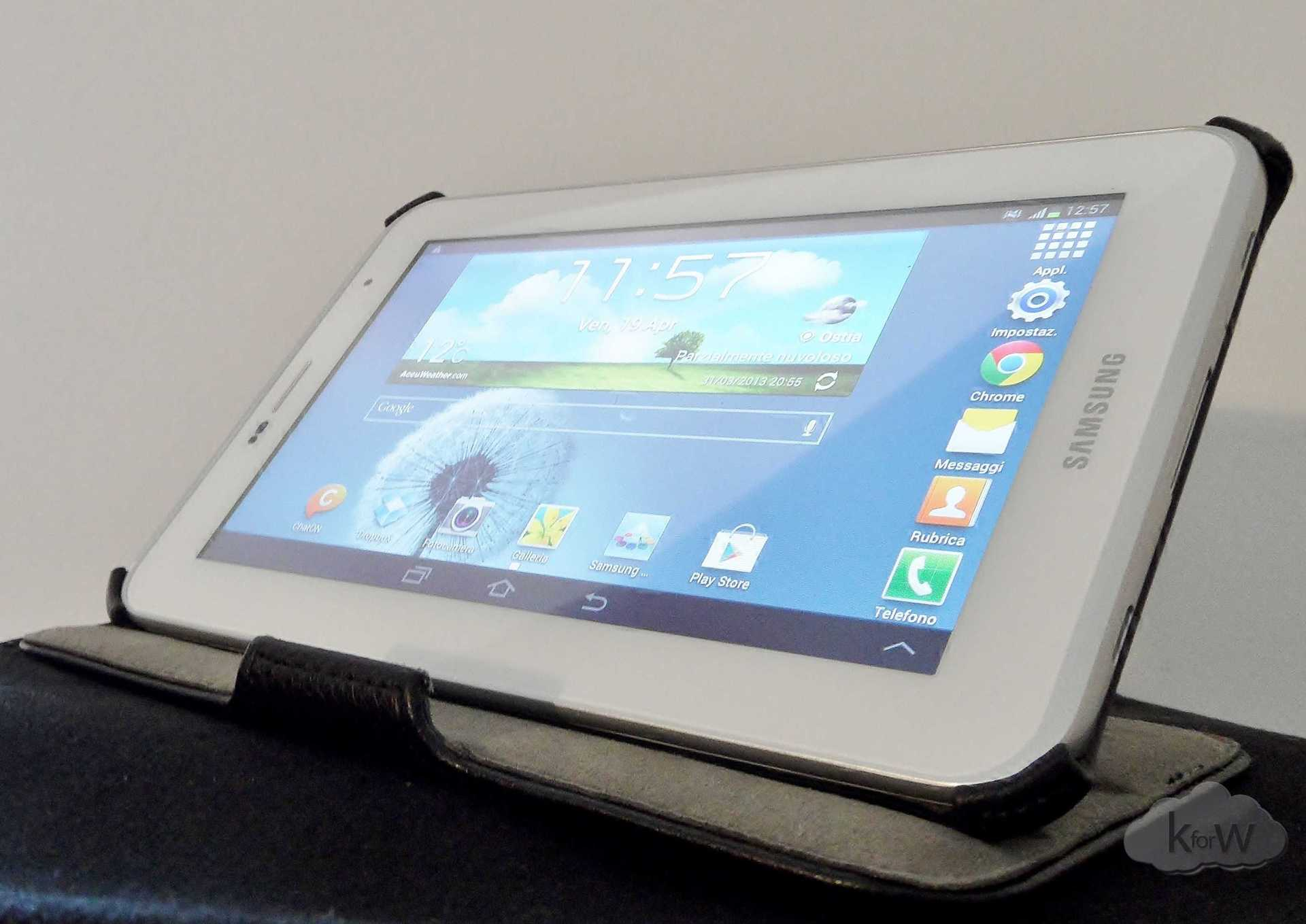 Recensione custodia Celly BOOKTAB257W per Galaxy Tab 2 7″