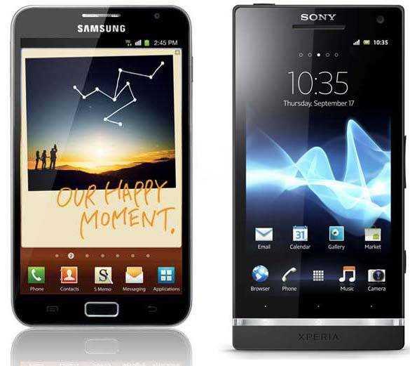 Sony Xperia S e Samsung Galaxy Note avranno Jelly Bean a Maggio